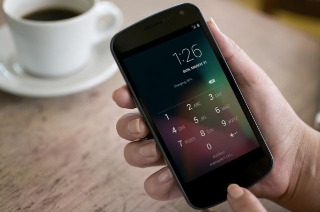 Android Sperrcode bildschirm